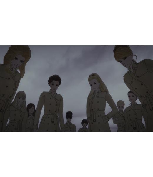 誘拐アンナ キャラクター  黒い10人の女達