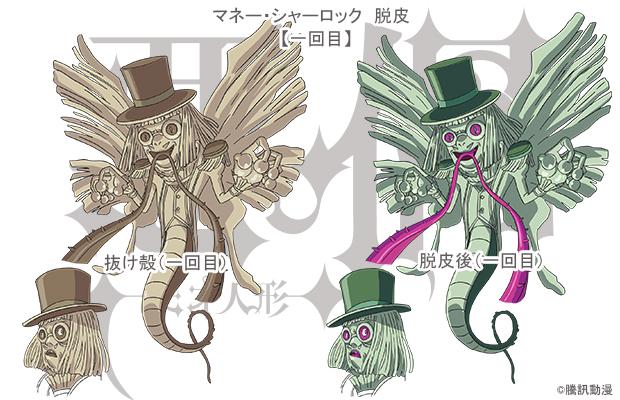 悪偶 -天才人形- SP企画:設定大公開VOL.1「マネー・シャーロック」脱皮1回目