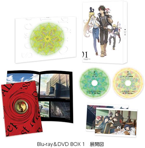 魔術士オーフェンはぐれ旅 Blu-ray&DVD BOX 1 展開図