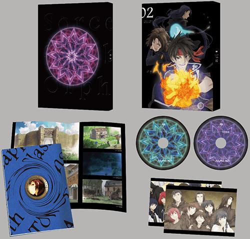 魔術士オーフェンはぐれ旅 Blu-ray&DVD BOX2 展開図