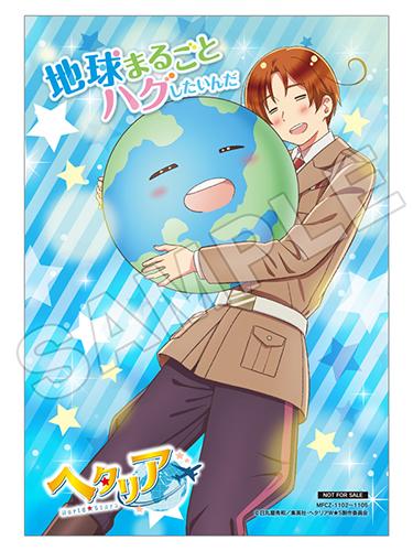 ヘタリア World★Stars主題歌CDアニメイト店舗特典ブロマイド