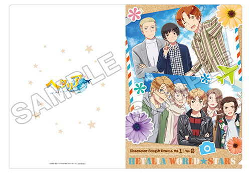 ヘタリア World★Stars キャラクターソング&ドラマ Vol.2  アニメイト 2巻連動購入特典